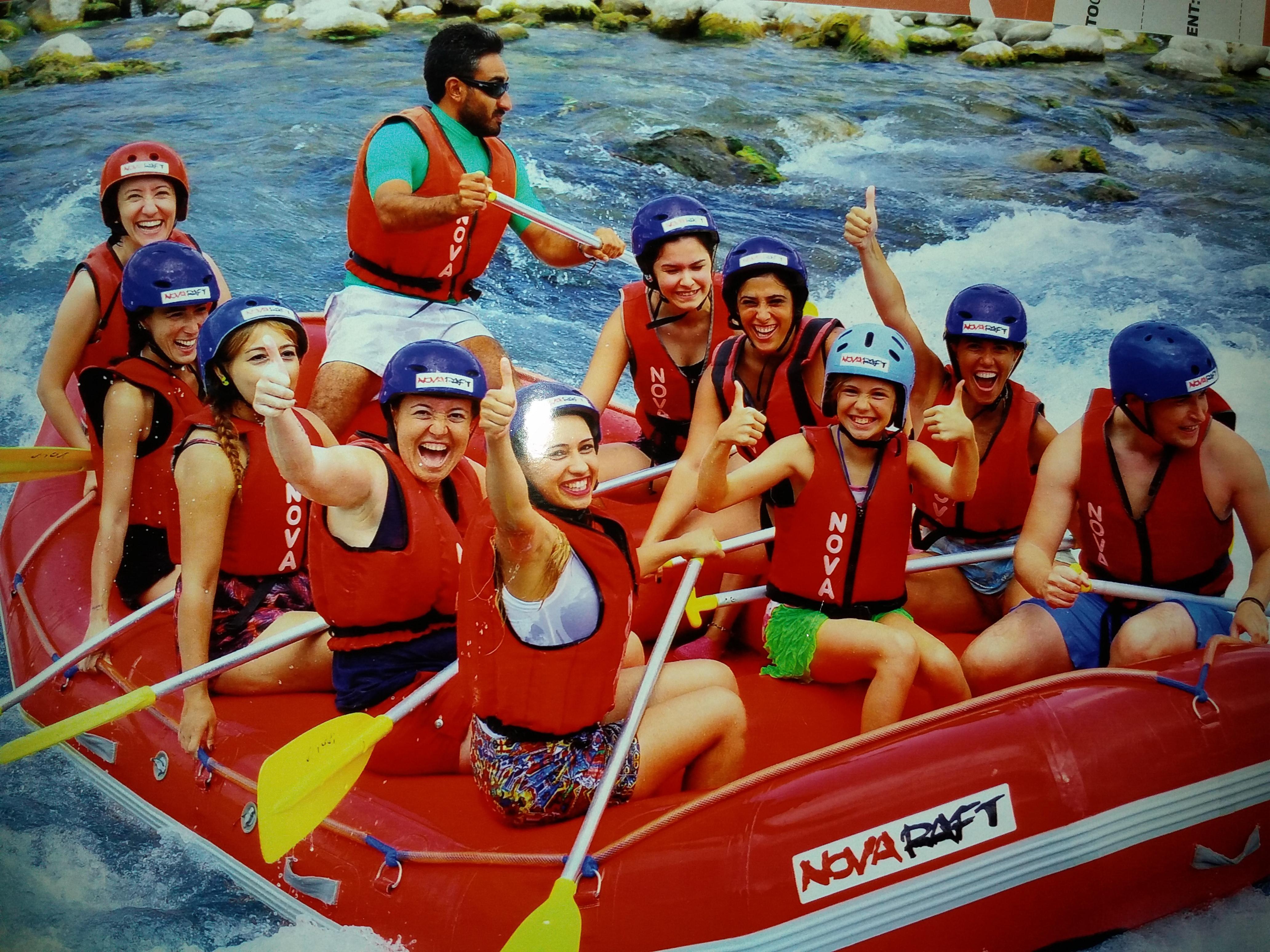 Antalya Köprülü Kanyon'da Rafting ile köpüklü sulara…