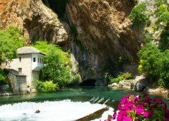 Mavi ve Yeşilin Blagaj'daki aşkı…