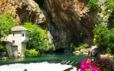 Mavi ve Yeşilin Blagaj'daki aşkı...