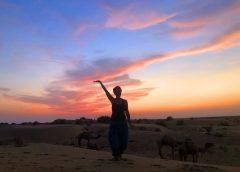 Çölde bir gece… Jaisalmer