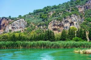 Dalyan - Kaya Mezarları