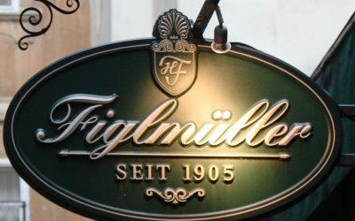 Schnitzel Figlmuller'de yenir!..
