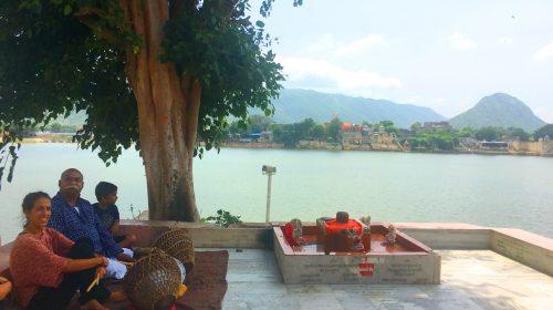 Kutsal gölü ile Pushkar...