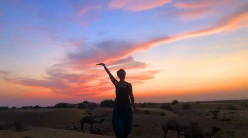 Çölde bir gece... Jaisalmer
